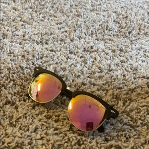 Pink Diff Sunglasses